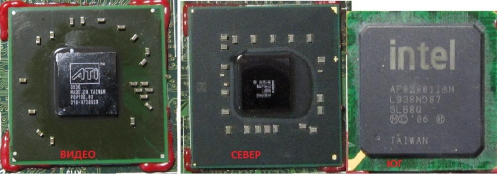 Видео чип и мосты